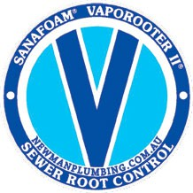 Newman Plumbing is a Vaporooter Authorised Applicator