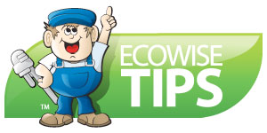 Ecowise Tips around your home