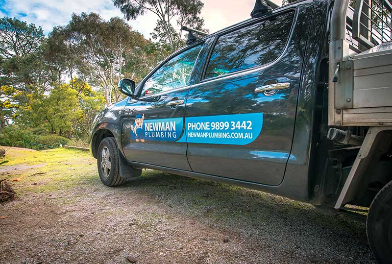 Newman Plumbing on the go