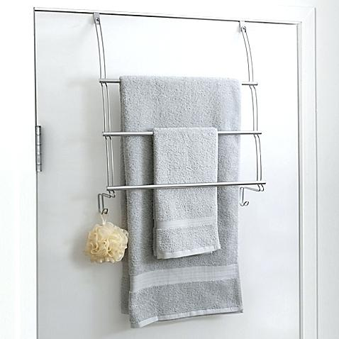 hang bathroom towels