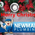 merry christmas from newman plumbing
